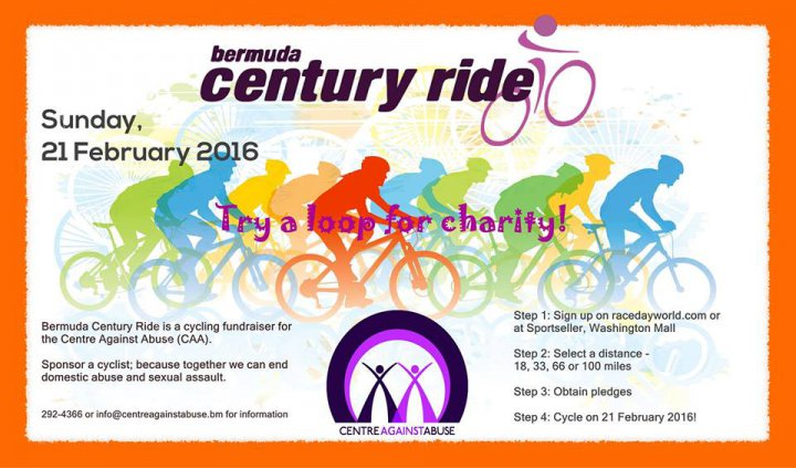 Bermuda Century Ride for Centre Against Abuse